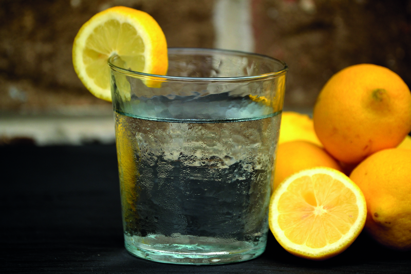 Refreshing Water with Lemons; Shutterstock ID 267658277